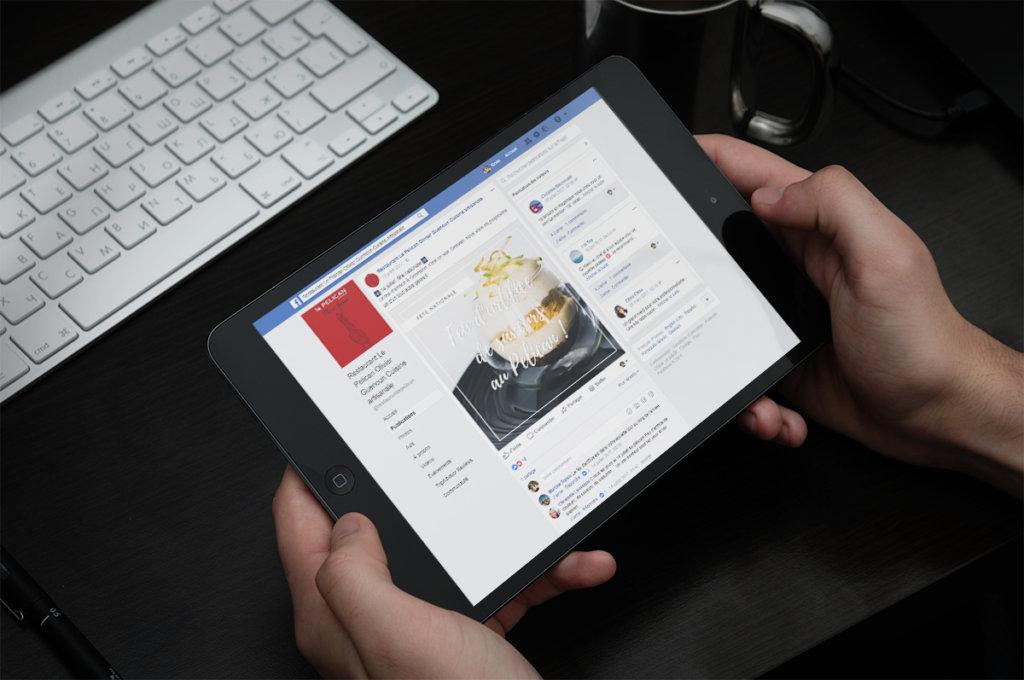 gestion réseaux sociaux restaurant nantes